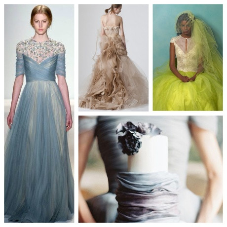 Gowns of color!